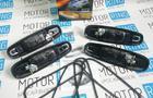 Наружные евро ручки «Рысь» хромированные для Лада Приора, ВАЗ 2110-12 в цвет кузова_5