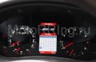 Электронная комбинация приборов Gamma GF 822 для Лада Приора, Калина, ВАЗ 2110-12 с евро панелью