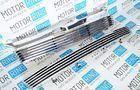 Комплект решеток радиатора и бампера Maretti linee хром для Лада Калина_1