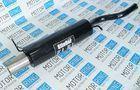 Глушитель прямоточный для Лада Калина хетчбек с насадкой для штатной установки без выреза бампера_1