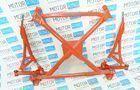 Подрамник с рычагами и треугольной алюминиевой защитой Rz для ВАЗ 2108-15_3