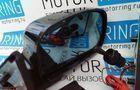 Боковые зеркала ЛТ-21уго в цвет черный с антибликом, повторителями и обогревом для Лада 4х4