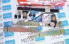 Передние электростеклоподъёмники для ВАЗ 2104-07, реечного типа «Форвард», комплект_5