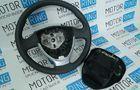 Заводской руль нового образца с заглушкой для Лада Приора, Калина 2