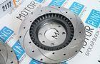 Передние тормозные диски Alnas Sport Euro 2112 (R14, насечки, перфорация, вентилируемые)_4