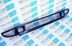 Нижняя решетка переднего бампера с сеткой, под 1 комплект ПТФ для Лада Приора_1