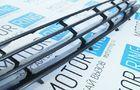 Декоративная решётка радиатора 4 узкие лопасти в цвет кузова для Лада Приора_3