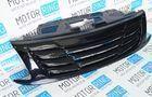 Декоративная решетка радиатора «Ривьера» в цвет кузова для Лада Гранта_4