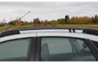 Рейлинги черные 0229-02 на крышу Лада Гранта лифтбек_5