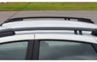 Рейлинги черные 0229-02 на крышу Лада Гранта лифтбек_4