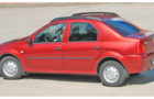 Рейлинги для Renault Logan, черные_2
