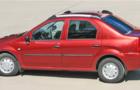 Рейлинги для Renault Logan, серые