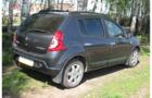 Рейлинги для Renault Sandero, черные