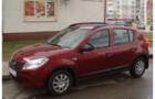 Рейлинги для Renault Sandero, черные_3