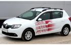 Рейлинги для нового Renault Sandero, черные_3
