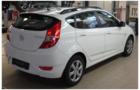 Рейлинги для Hyundai SOLARIS хэтчбек, черные