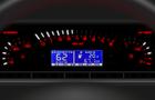 Электронная комбинация приборов Gamma GF 683 Лада Самара (ВАЗ 2108, 2109, 21099) старая панель