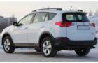 Рейлинги для Toyota RAV4 (IV), черные