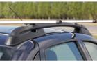 Рейлинги для Datsun On-Do с креплением «КАЛИНА 3» с поперечинами, черные_2