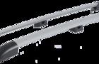 Рейлинги серые 0239-11 на крышу Лада Ларгус