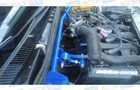 Растяжка передних стоек ТехноМастер с дополнительной опорой двигателя на 16 кл Лада Гранта, Калина, Калина 2_10