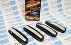 Наружные евроручки Рысь хром на Лада Приора, ВАЗ 2110, 2111, 2112 в цвет кузова_1