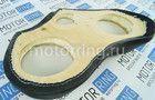 Подиумы 3-х компонентные 16 х 16см х рупор Модификация 1 на передние двери Лада Гранта_4