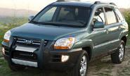 Передняя защита для KIA SPORTAGE 2004-2009, NEMRUT