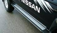 Пороги для nissan skystar-np300, gordion