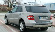Пороги для MERCEDES ML 320-280 2006-2012, TRUVA