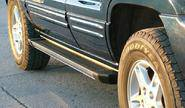 Пороги для jeep cherokee liberty 2002-2007, truva
