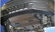 Защита двигателя и трансмиссии (плита), нерж. сталь чёрная