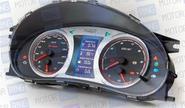 Электронная комбинация приборов Gamma GF 818 Silver для Лада Приора, Калина, ВАЗ 2110-12 с евро панелью