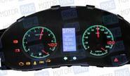 Электронная комбинация приборов Flash х4 для Лада Приора, Калина, ВАЗ 2110-12 с евро панелью