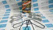 Наружные евро ручки «Рысь» хромированные для Лада Приора, ВАЗ 2110-12 в цвет кузова