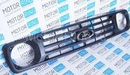 Решетка радиатора Урбан с шильдиком Ладья нового образца на Лада Нива 4х4
