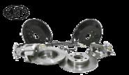 Задние дисковые тормоза «AST»