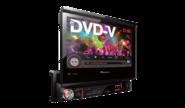 DVD-магнитолы с выдвижным монитором