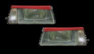 Реснички на фары ВАЗ 2108-099