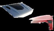 Пластиковые капоты и крылья ВАЗ 2113-15