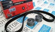 Комплект ремня и роликов ГРМ gates усиленный на 16кл ВАЗ 2110-2112, 2114 Супер-Авто