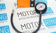 Манометр 10 атм с насадкой и шлангом «АвтоDело» 42302