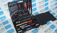 Набор инструментов (56 предметов) «Сервис Ключ» 11056