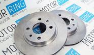 Комплект передних тормозных дисков вентилируемых R13 БЗАК для ВАЗ 2108-15, 2110-12, Лада Приора