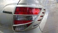 Накладки на задние фонари в цвет кузова для Лада Гранта седан