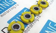Сайлентблок растяжки ВАЗ 2108-99 SS20 желтый, в упаковке 4шт 70104