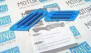 Декоративные накладки «Жабры» 0395 на кузов автомобиля, синие