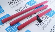 Патрубки печки для ВАЗ 2110 армированный каучук, красные