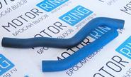 Патрубки печки армированный каучук синие на Шевроле Нива