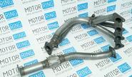 Паук 4-2-1 «Stinger sport» из нержавеющей стали для Hyundai Accent 16V с виброкомпенсатором